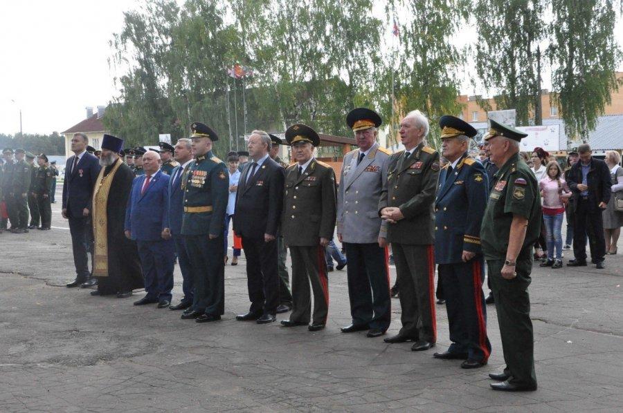 Открытие музея боевой славы в Нахабино
