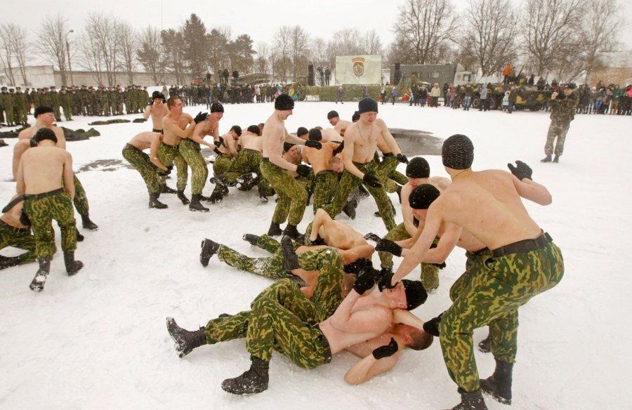 Переохлаждение в армии