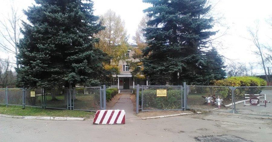 Здание штаба части В/Ч 33877