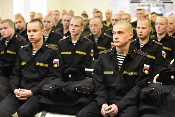 Солдаты военно-морского флота