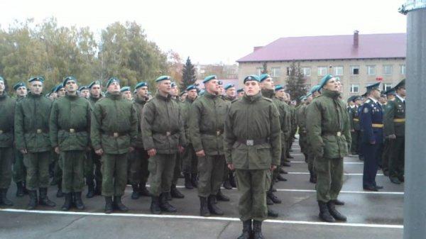 137 полк ВДВ в Рязани