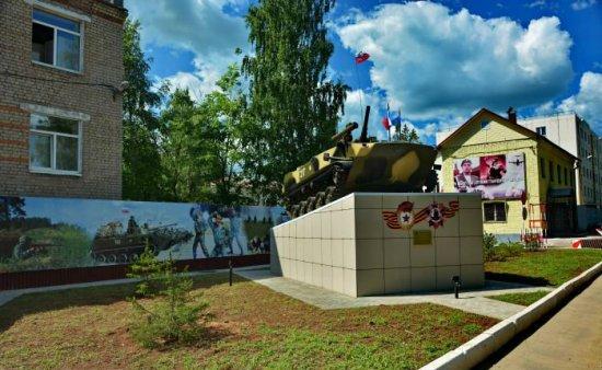 Часть расположения 217 полка ВДВ