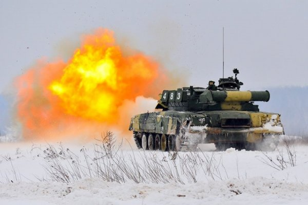 Танк Кантемировской дивизии
