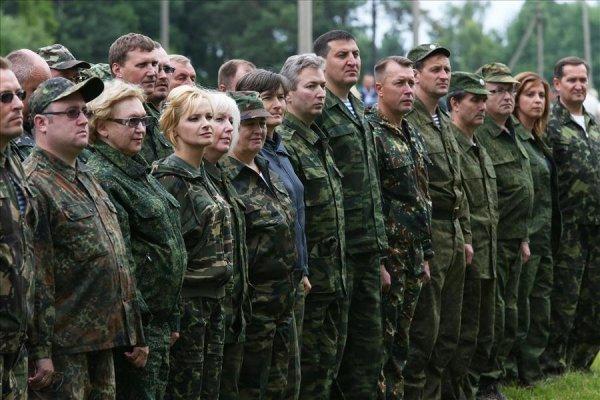 Военные сборы для гражданских лиц