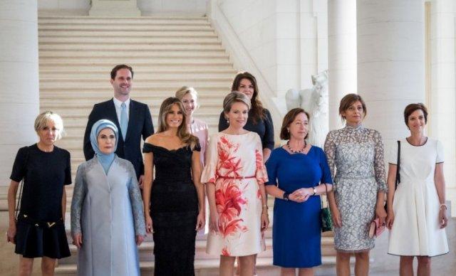 Жены глав государств членов NATO