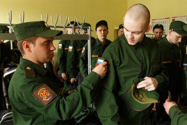 Подгонка обмундирования военнослужащим, зачисленным на действительную военную службу
