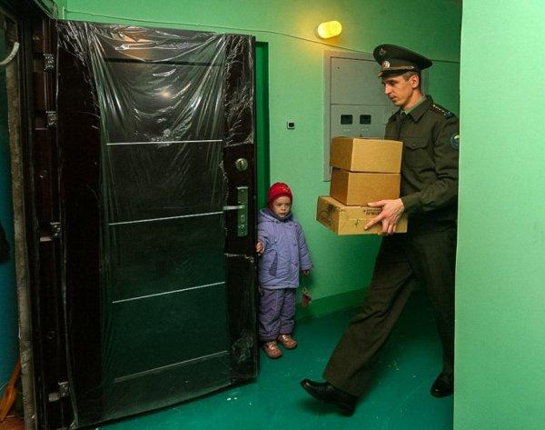 Заселение военного в новую квартиру
