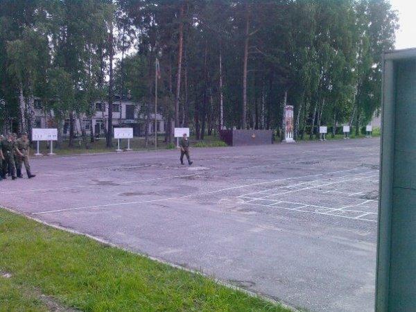 Военная часть в Козельске