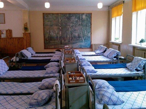 Спальня воинской части в Козельске