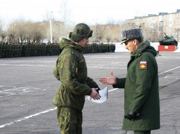 Поощрение в армии