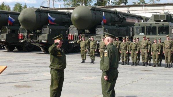 Учения 54-ой ракетной дивизии