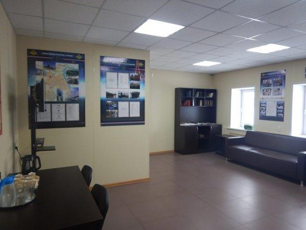 Комната посетителей при воинской части