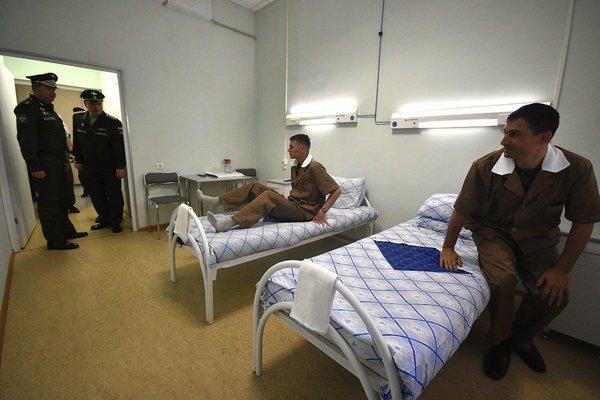 Солдаты в госпитале