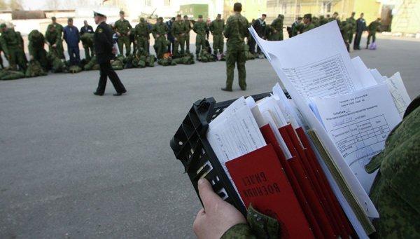 Военнослужащий с документами