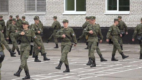 Строевая подготовка в армии