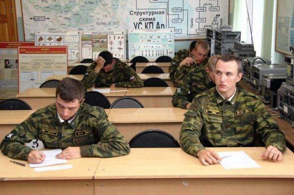 Занятия в армии