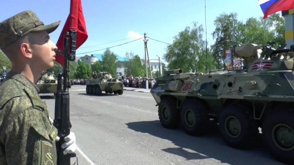 Военнослужащие города Валуйки