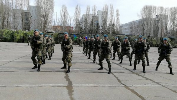 Занятия военных