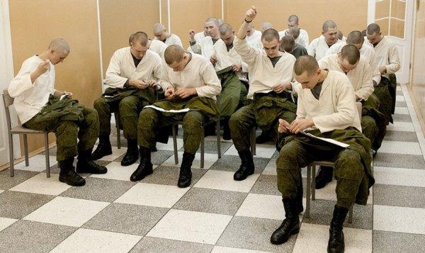 Подшивка воротничков в армии