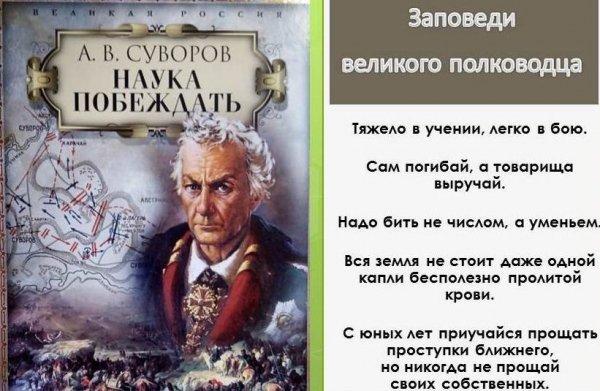"""Суворов """"Наука побеждать"""""""